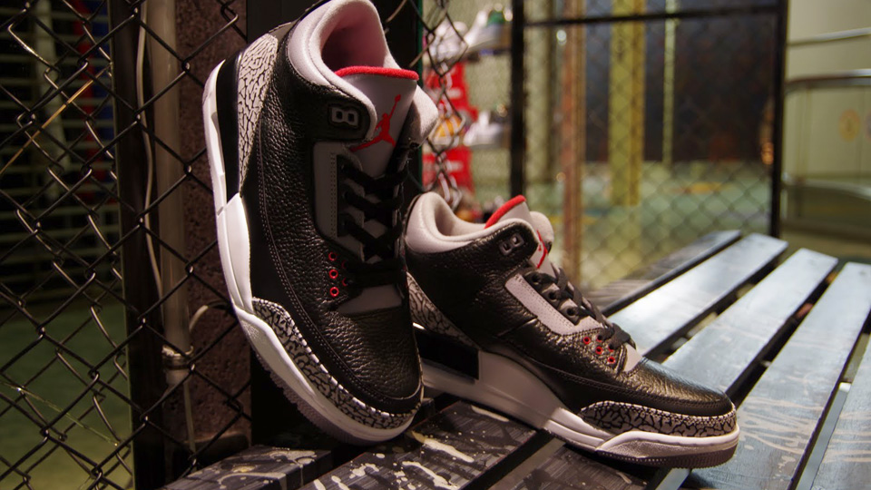 Air Jordan 3 Black Cement Retro 2011