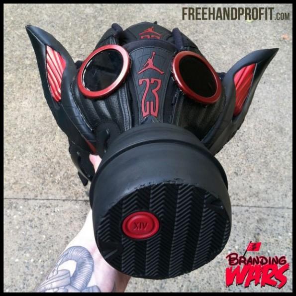 masque à gaz Air Jordan 14 Last Shot