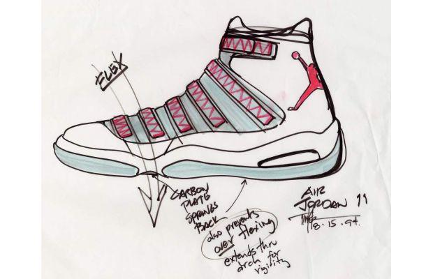 Croquis Air Jordan 11