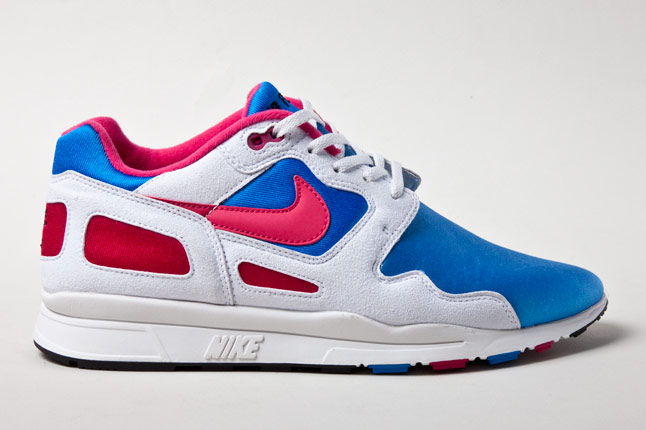 Nike Air Flow Pink Blue