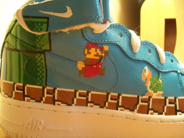 Nike Air Force 1 High Super Mario Bros