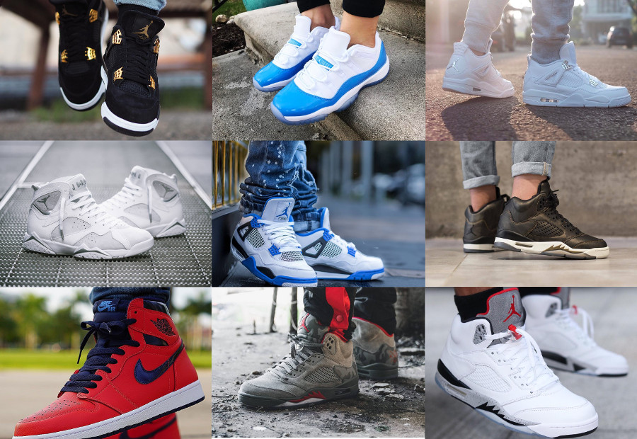 9 Air Jordan en promotion