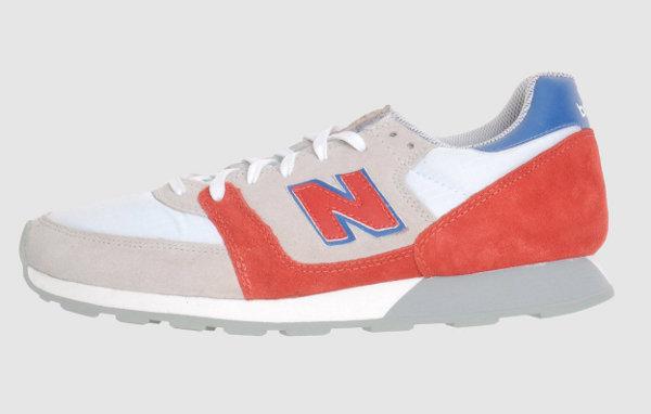 New Balance 550 rouge et grise