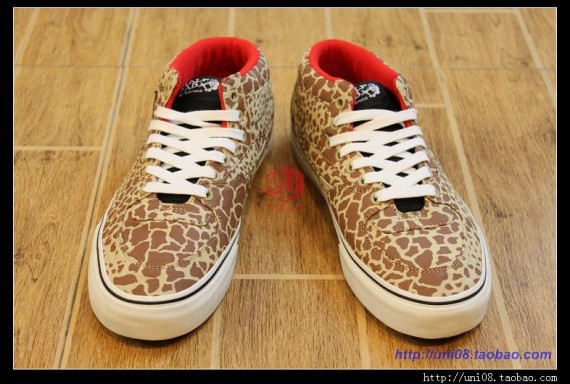 Supreme x Vans Half Cab 'Giraffe Pack'