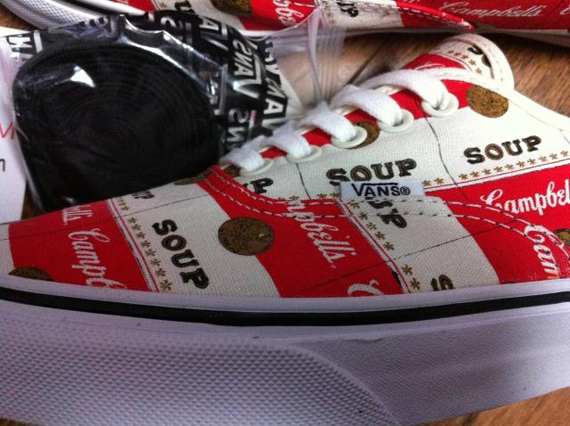 Supreme x Vans Authentic 'Campbell Soup'