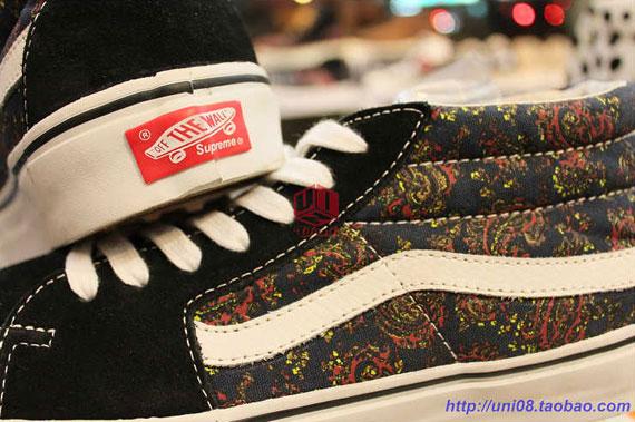 Supreme x Vans 'Paisley Pack'