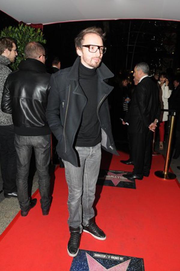 Christophe Willem en sneakers ?