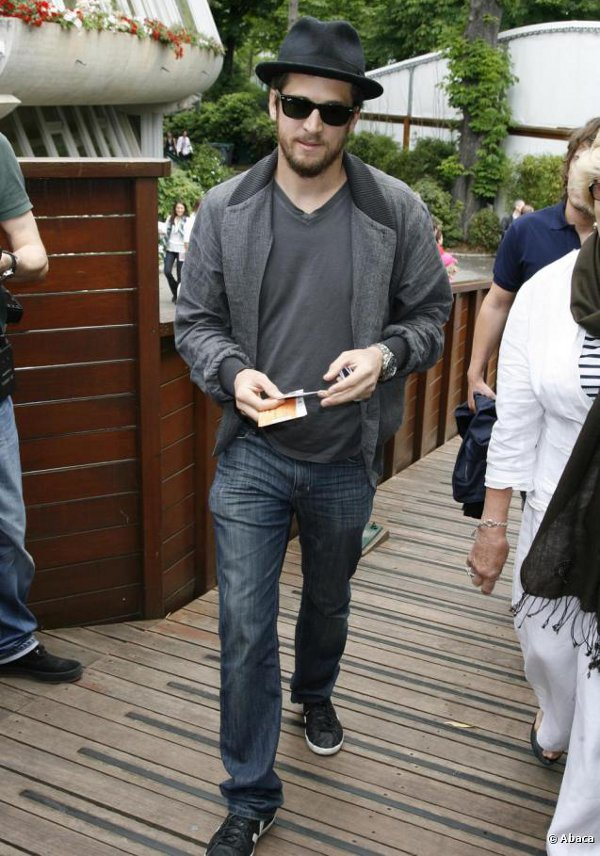 Guillaume Canet en Adidas