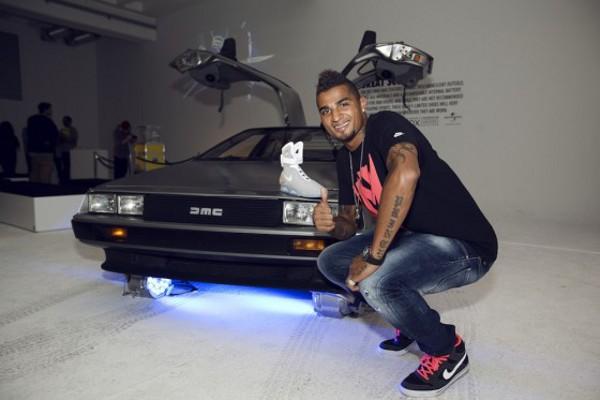 Kevin Prince Boateng en Nike Dunk Hi