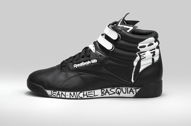 Reebok x Jean Michel basquiat 2012
