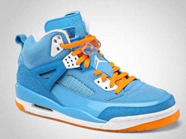 Air Jordan Spizike University Blue Vivid Orange