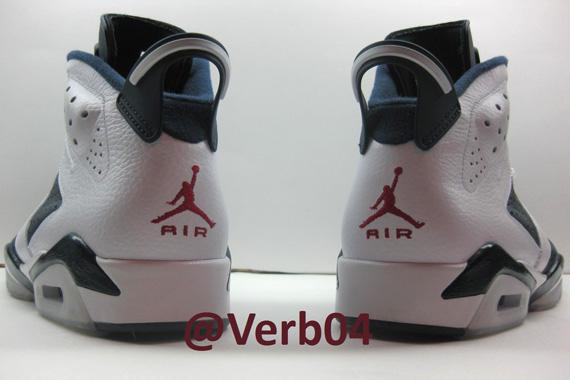 Air Jordan 6 Retro Olympic 2012