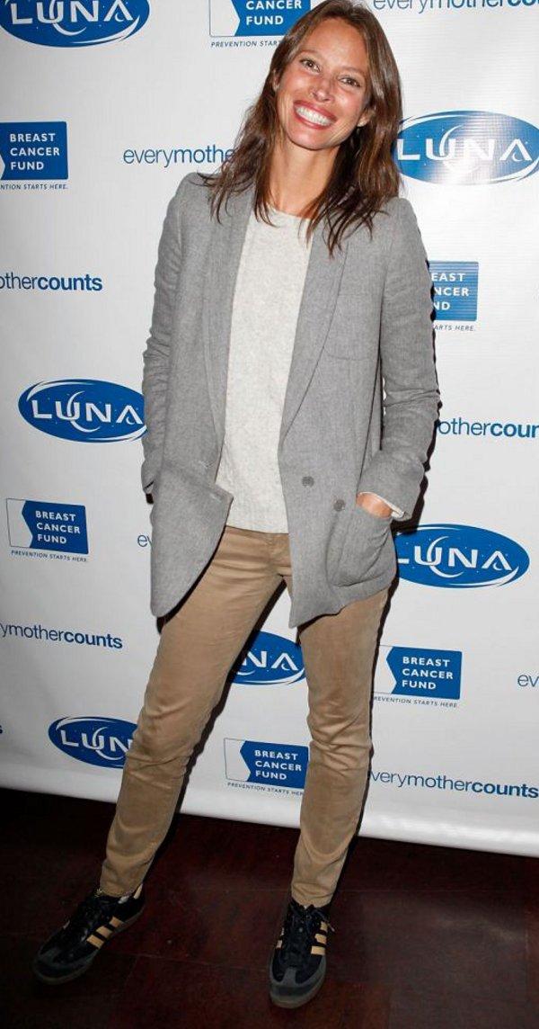 Christy Turlington en Adidas