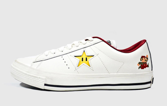 Super Mario Bros. x Converse One Star Ox