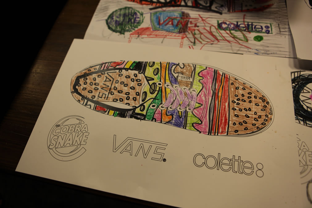 The Cobra Snake X Colette X Vans Era