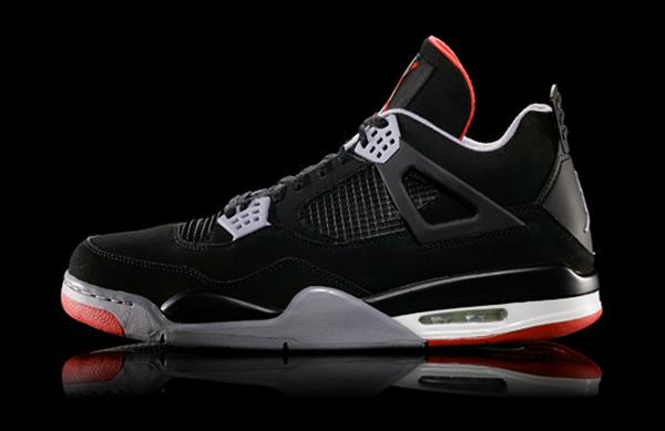 Air Jordan 4 Retro Black Cement Grey 2012