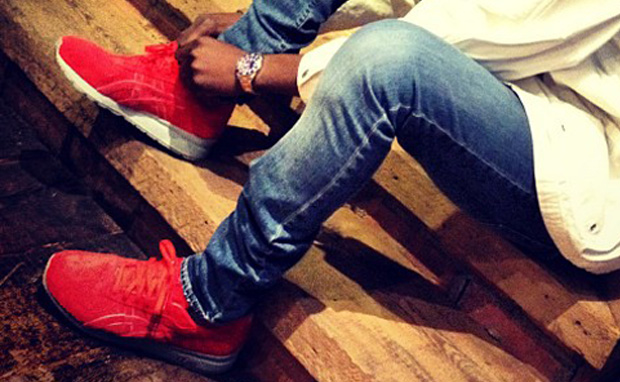 """RONNIE FIEG X ASICS GT-II """"SUPER RED 2″"""