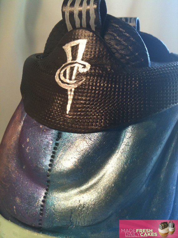 gâteau Nike Air Foamposite One 'Galaxy'