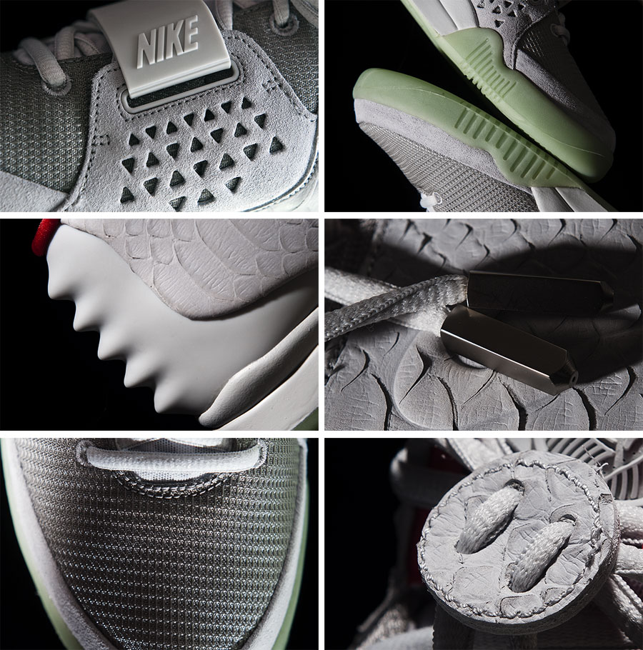 Nike Air Yeezy 2 Wolf Grey / Pure Platinum :