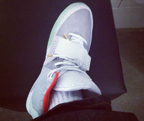 Nike Air Yeezy 2 Zen Grey