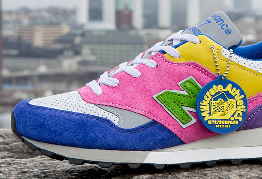 Sneakersnstuff x Milkcrate Athletics x New Balance 577