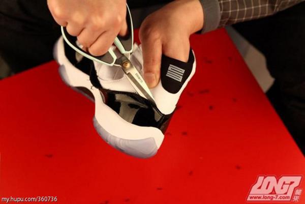 Air Jordan 11 Concord disséquée