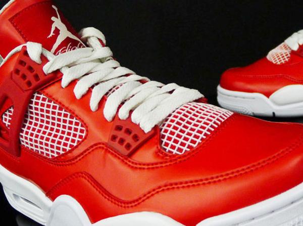 Air Jordan 4 – Red/White Sample