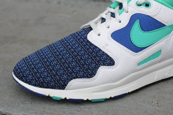 Nike Air Flow - Storm Blue/New Green & Magenta/Red-Stealth