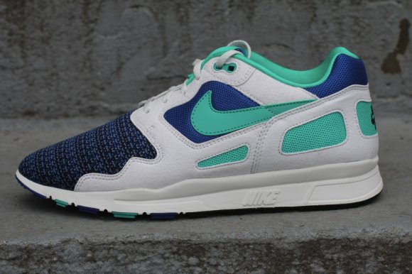 Nike Air Flow - Storm Blue/New Green & Magenta /Red-Stealth