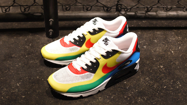 buy online c66c2 fb65f La Nike Air Max 90 Hyperfuse Olympic est issue du pack « What The Max« . Il  comprend également les Air Max 95 + BB et 2012.