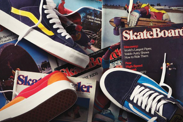 Skateboarder Magazine x Vans Capsule Collection
