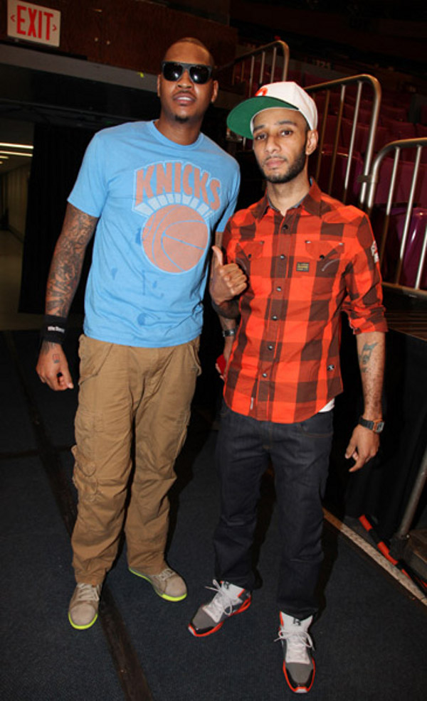Swizz Beatz en Reebok Kamikaze 3 : le best of !