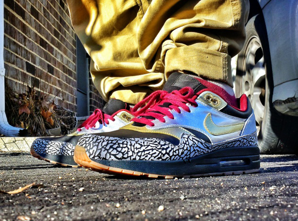 Nike Air Max 1 ID Elephant -BoutthatJaelife (2)