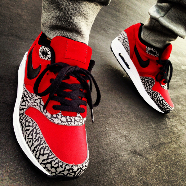 Nike Air Max 1 ID Elephant Supreme - YoungSk8