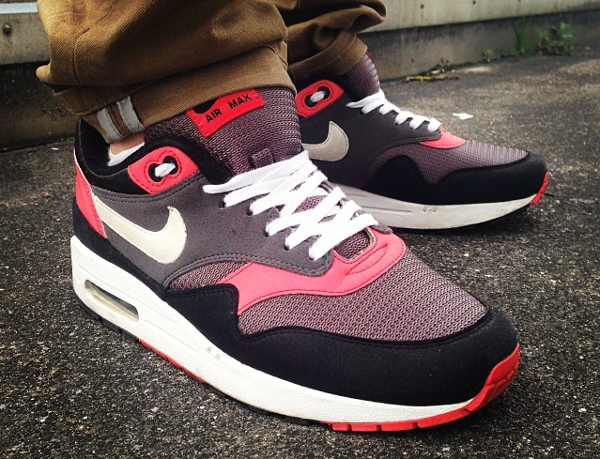 Nike Air Max 1 ID Infrared Stealth Black - Pablo951