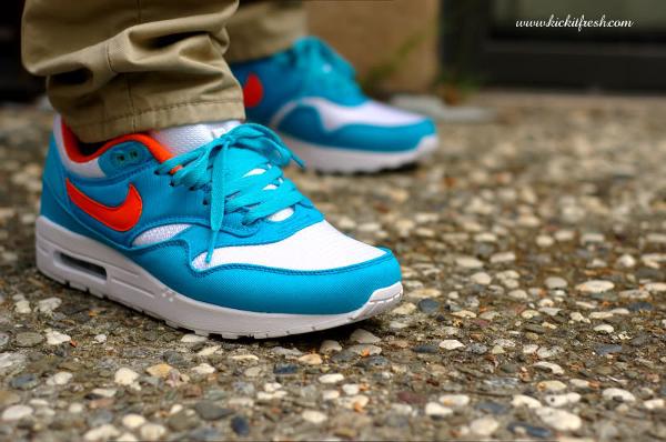 Nike Air Max 1 ID Miami Dolphins - Verse001