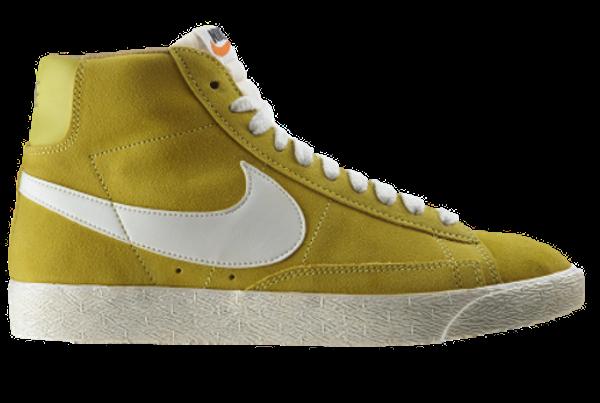 Nike Blazer High Suede printemps été 2012
