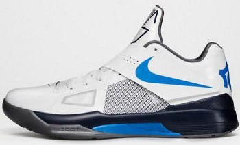Nike Zoom KD 4 White Blue