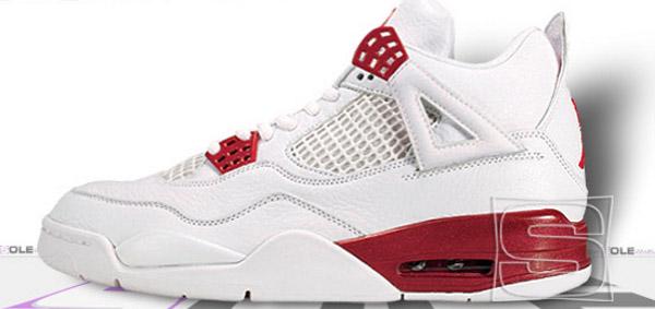 Air Jordan 4 Retro White/Varsity Red