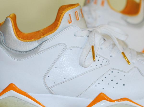 Air Jordan 7 Low White/Orange