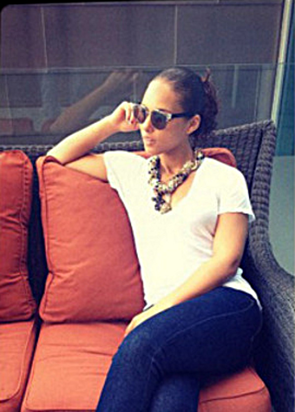 Alicia Keys fait fureur avec les Reebok Question !