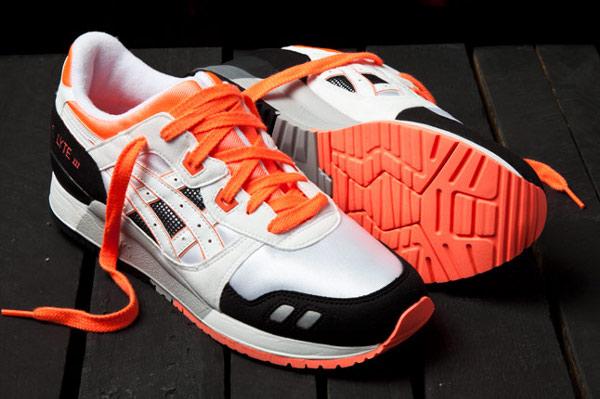 Asics Gel Lyte 3 & Saga Orange Blaze