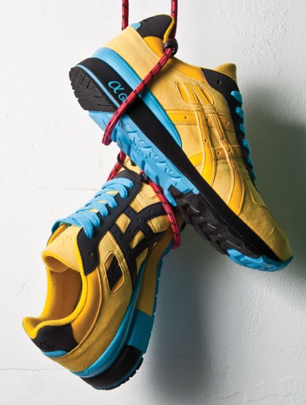 Bait x Asics GT 2 Yellow