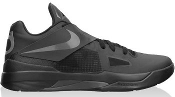 Nike Zoom KD 4 Black Grey