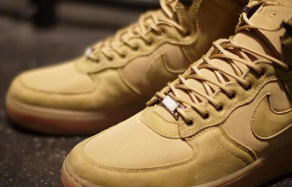 Air Force 1 Hi Force Boot Golden Harvest