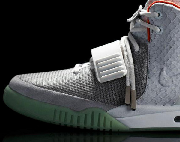 Nike Air Yeezy 2 Wold Grey Pure Platinum France