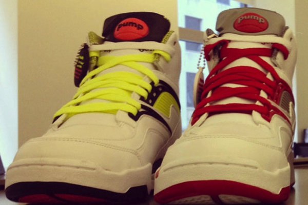 Reebok Pump Twilight Zone 2012