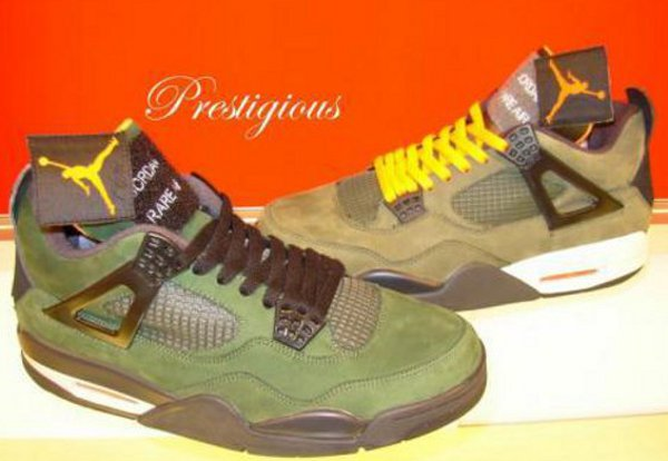 Air Jordan 4 Undefeated Promo sample