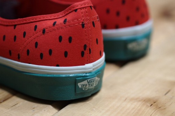 Vans Authentic & Slip On Watermelon 2012