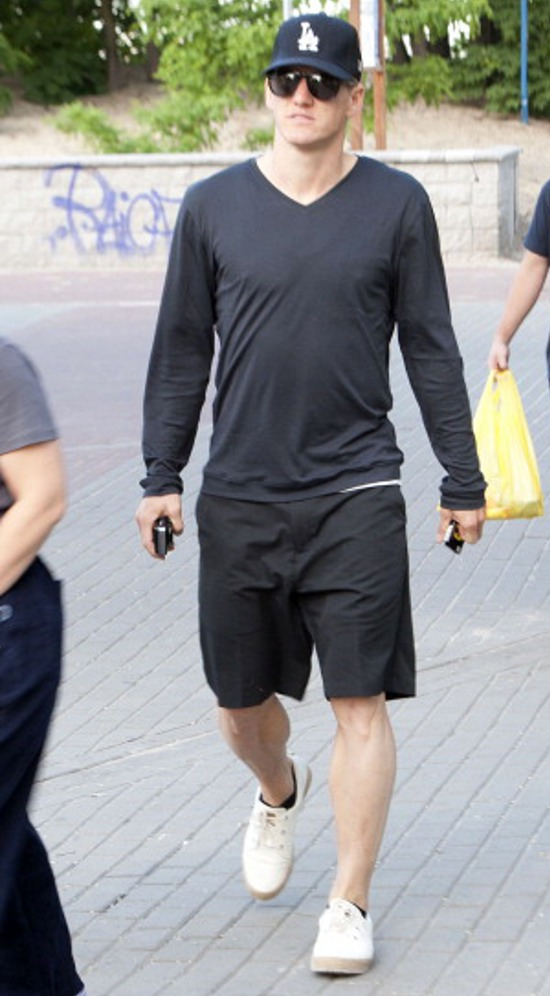 Bastian Schweinsteiger en Adidas ransom Pier